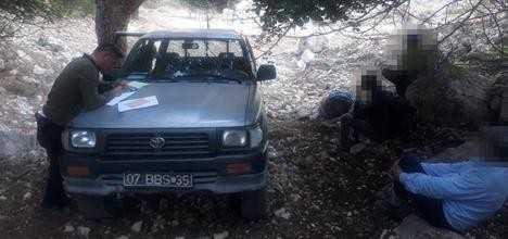 Kaçak avcılara 8 bin lira ceza uygulandı.