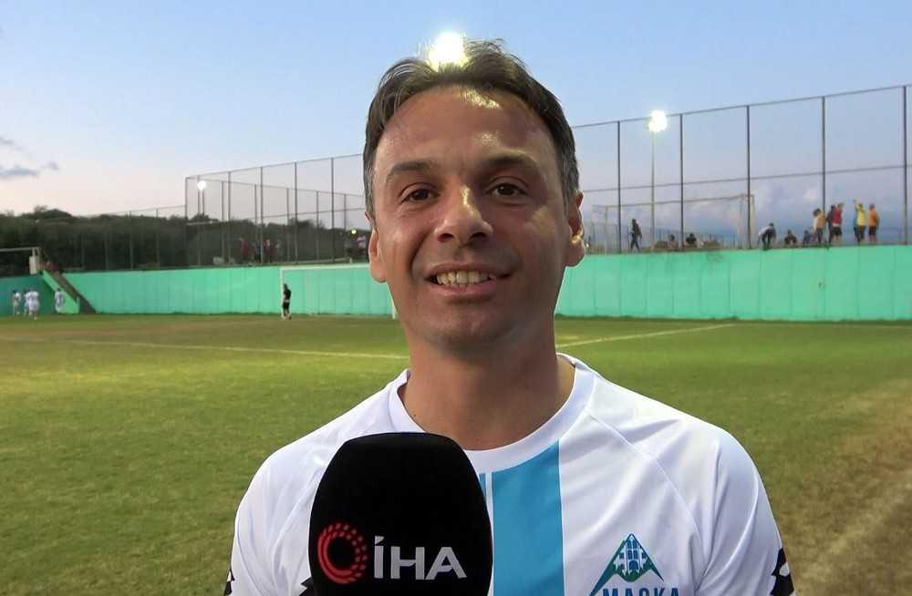 """Maçka Belediye Başkanı Koray Koçhan: """"Futbol güzel, şahane ama dostluk daha şahane"""""""
