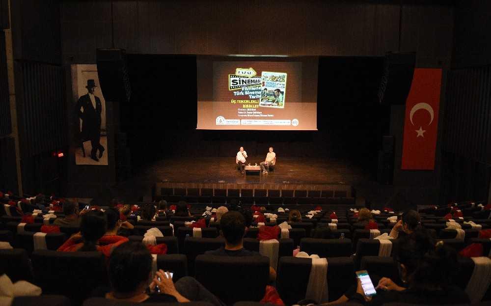 Muratpaşa'da önce müzik, sonra sinema konuşuldu