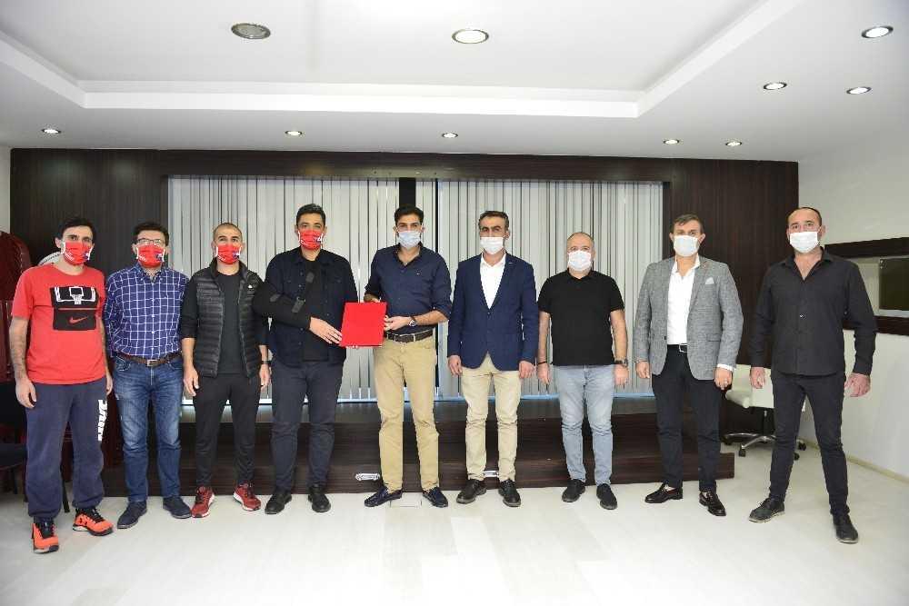 Muratpaşa'da spor protokolü