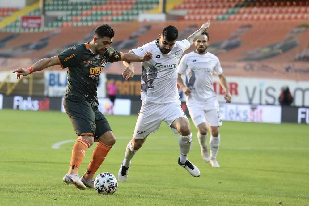 Süper Lig: Aytemiz Alanyaspor: 1 – Konyaspor: 0 (Maç sonucu)