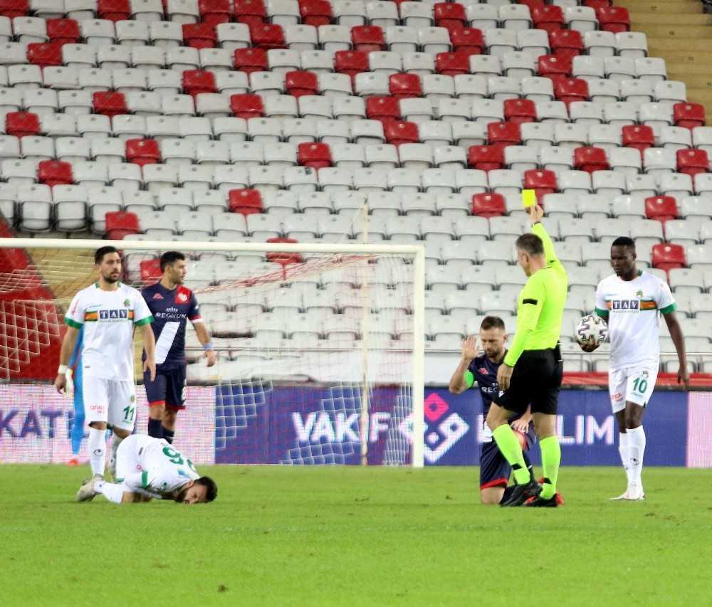 Süper Lig: Fraport TAV Antalyaspor: 0 – Aytemiz Alanyaspor: 2 (Maç sonucu)