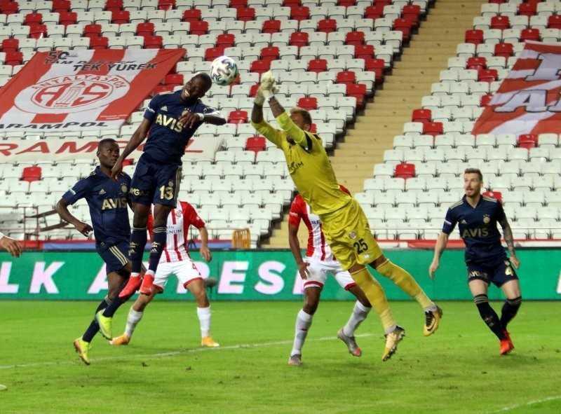 Süper Lig: FT Antalyaspor: 1- Fenerbahçe: 2 (Maç sonucu)