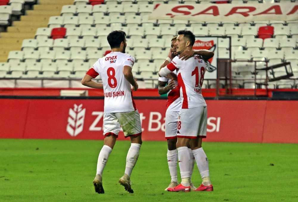 Ziraat Türkiye Kupası: FT Antalyaspor: 2 – Pendikspor: 0