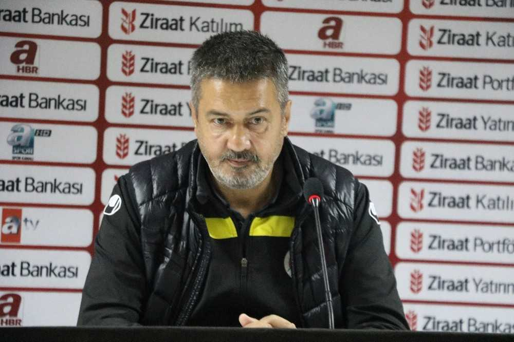 Alanyaspor – Adanaspor maçının ardından