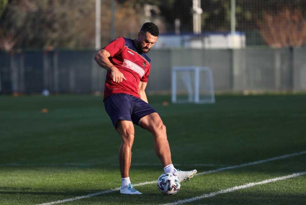 Alanyaspor, Denizlispor maçı hazırlıklarına başladı