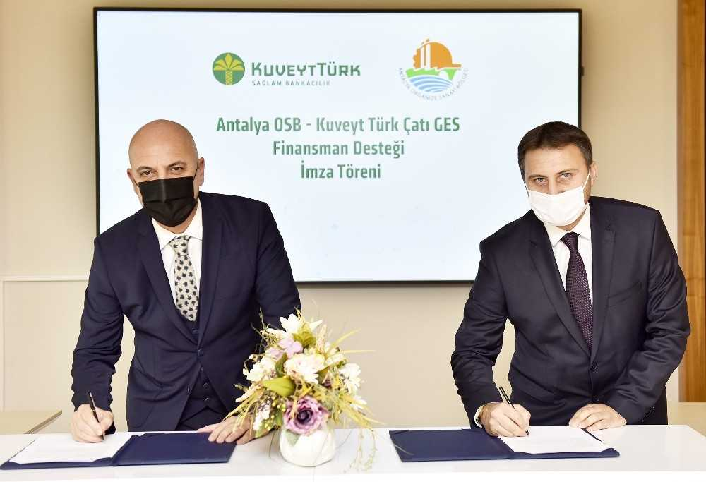 Antalya OSB Sanayicisine GES için özel finansman desteği