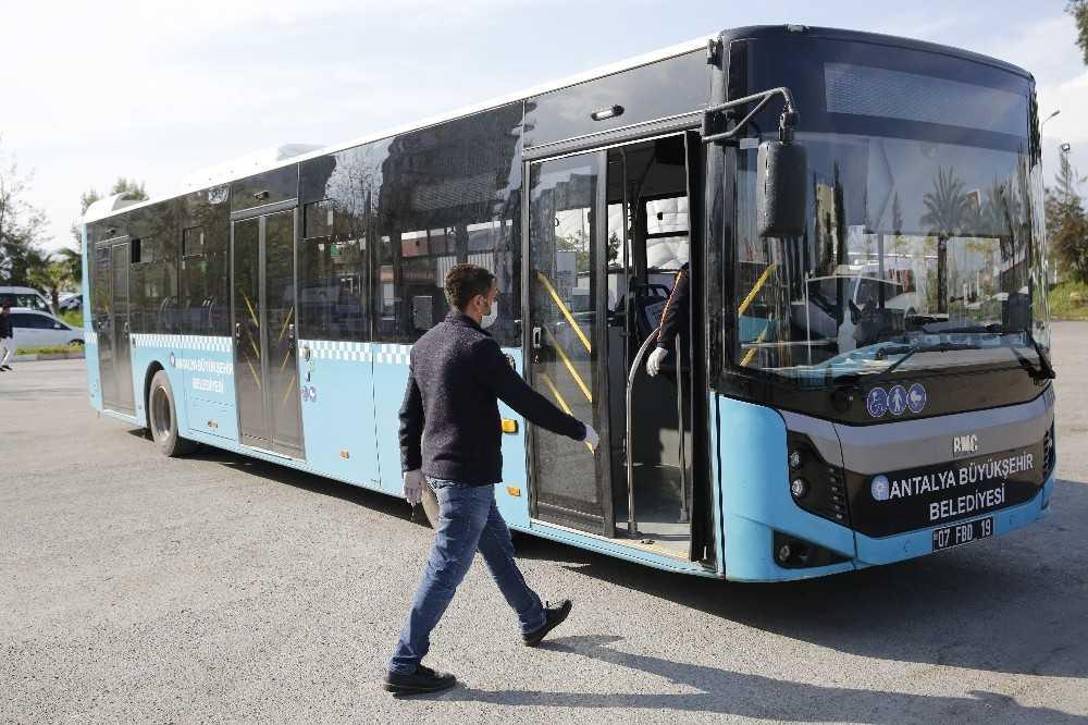 Antalya'da toplu ulaşıma yüzde 15 zam