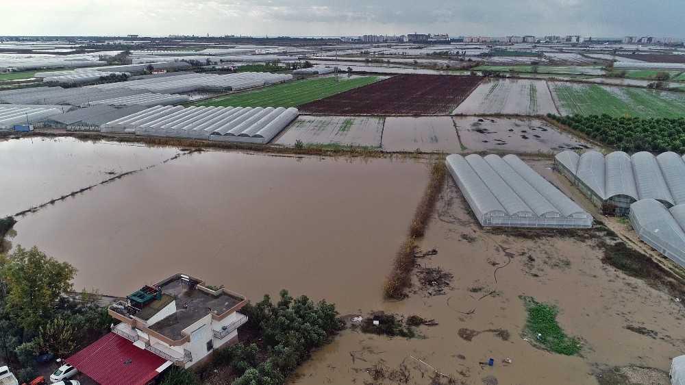 Antalya'da yağış eksiği yüzde 19,7'ye düştü
