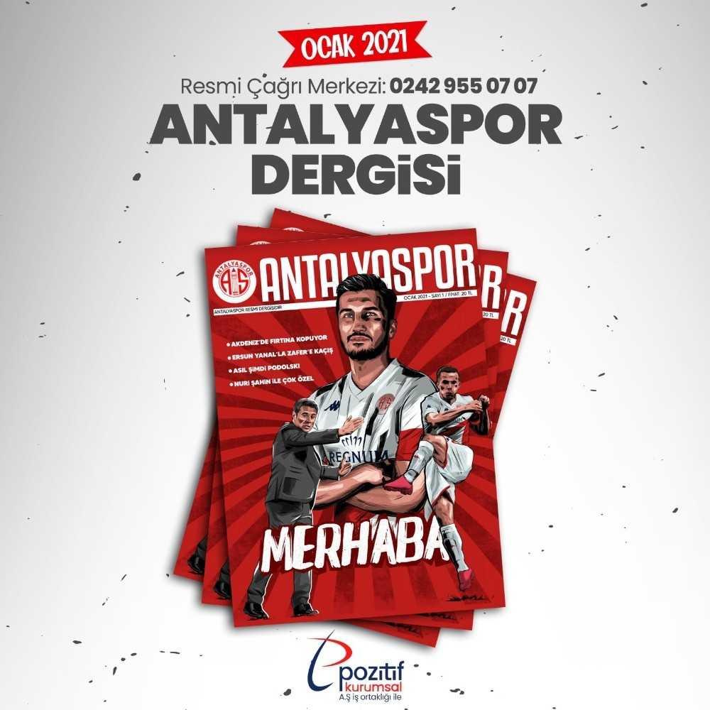 Antalyaspor Dergisi yayın hayatına başlıyor