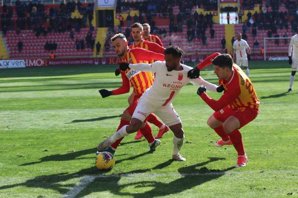 Antalyaspor ile Kayserispor 35. randevuda