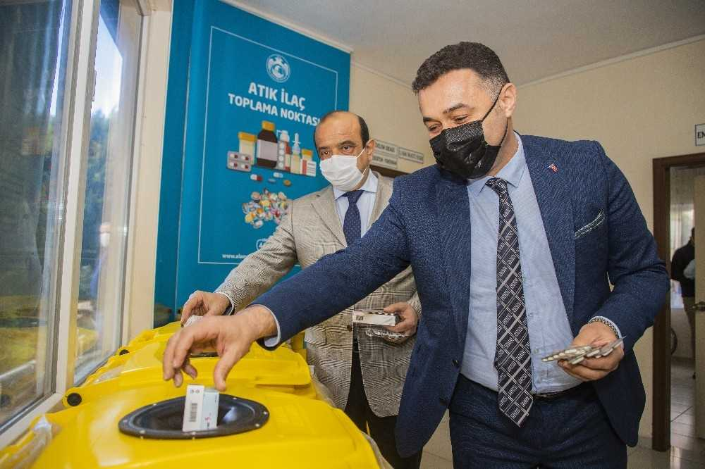 Atık ilaçlar belediye tarafından imha dilecek