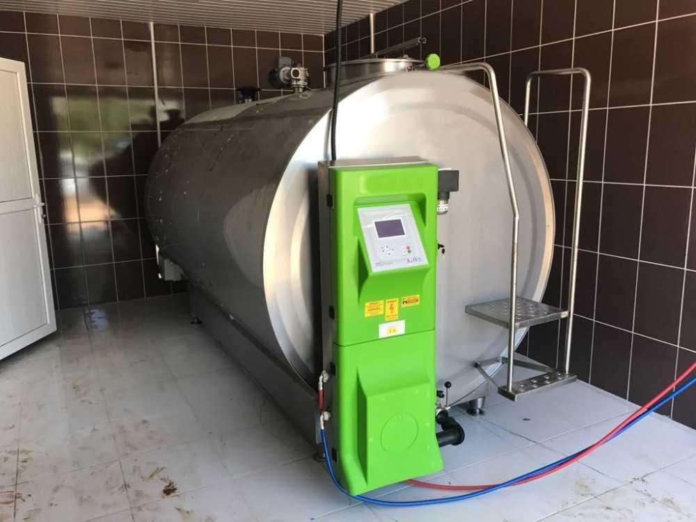 Büyükşehir'den besicilere süt tankı desteği