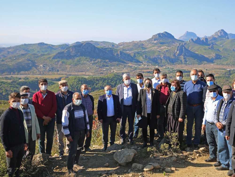 'Çardak Taşağıl Sulama Suyu Projesi' ile üretim yeniden başlayacak