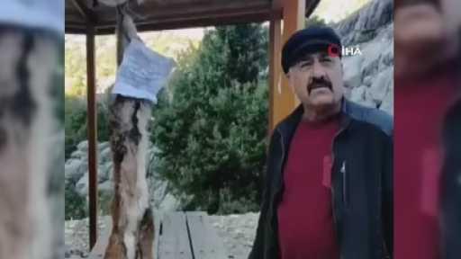 Dağ keçisi avcılarını ihbar eden muhtara tehdit