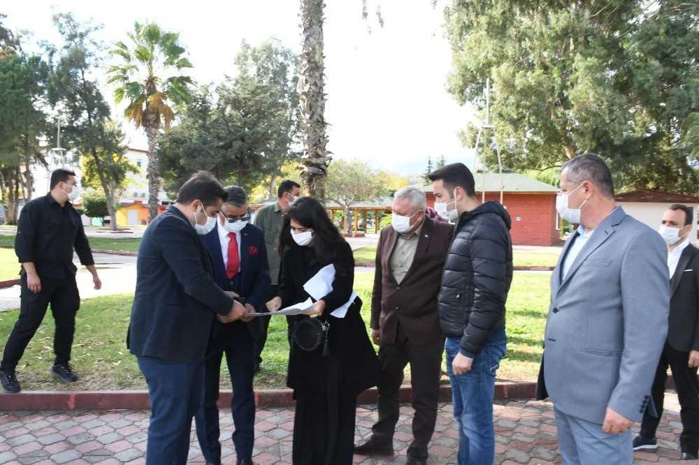 Kemer Olbia Parkı yeniden düzenleniyor