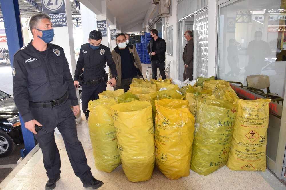 Kumluca'da maske ve mesafe denetimi arttırıldı