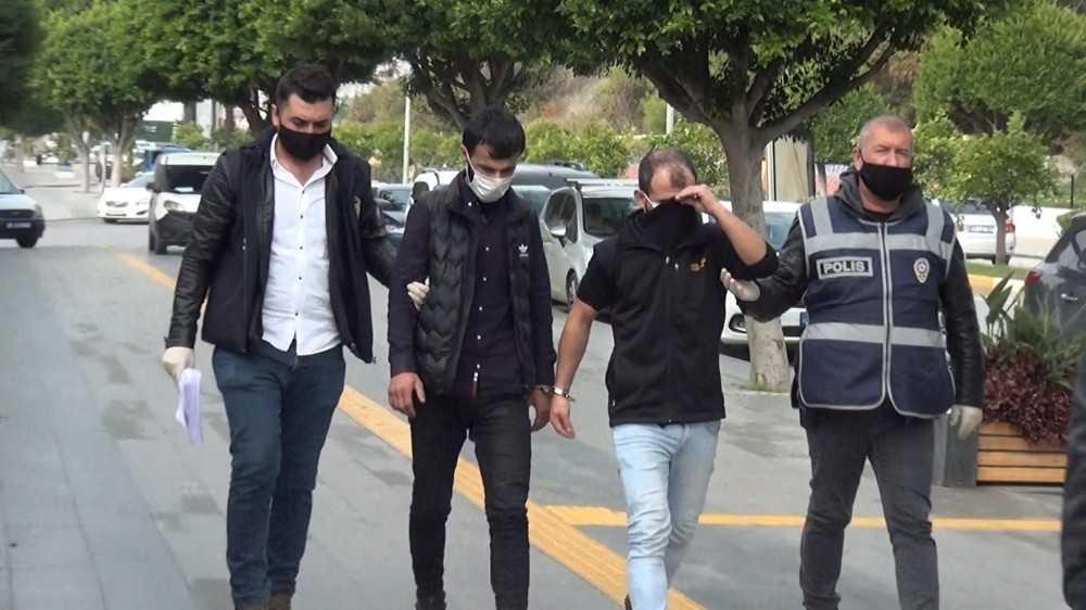 Motosikleti kısıtlama saatinde maskesiz çaldılar 8 bin 300 TL ceza aldılar