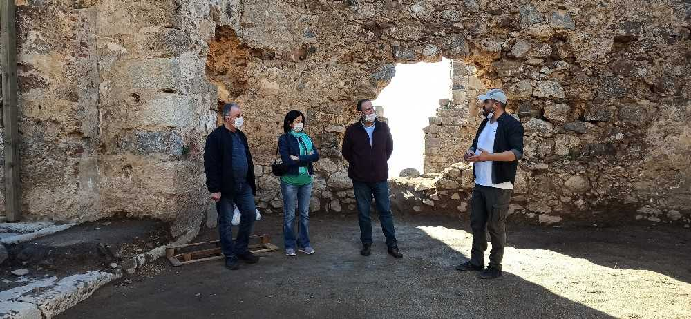"""Sili:""""Syedra Antik Kenti ziyaretçi akınına uğrayacak potansiyelde"""""""