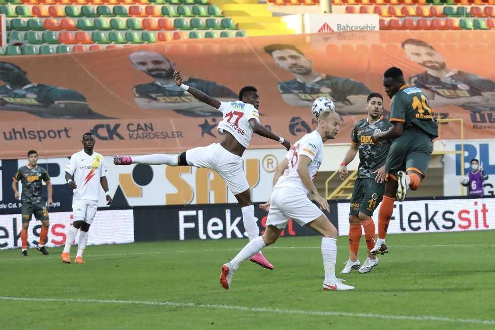 Süper Lig: Aytemiz Alanyaspor: 1 – Yeni Malatyaspor: 1 (Maç sonucu)