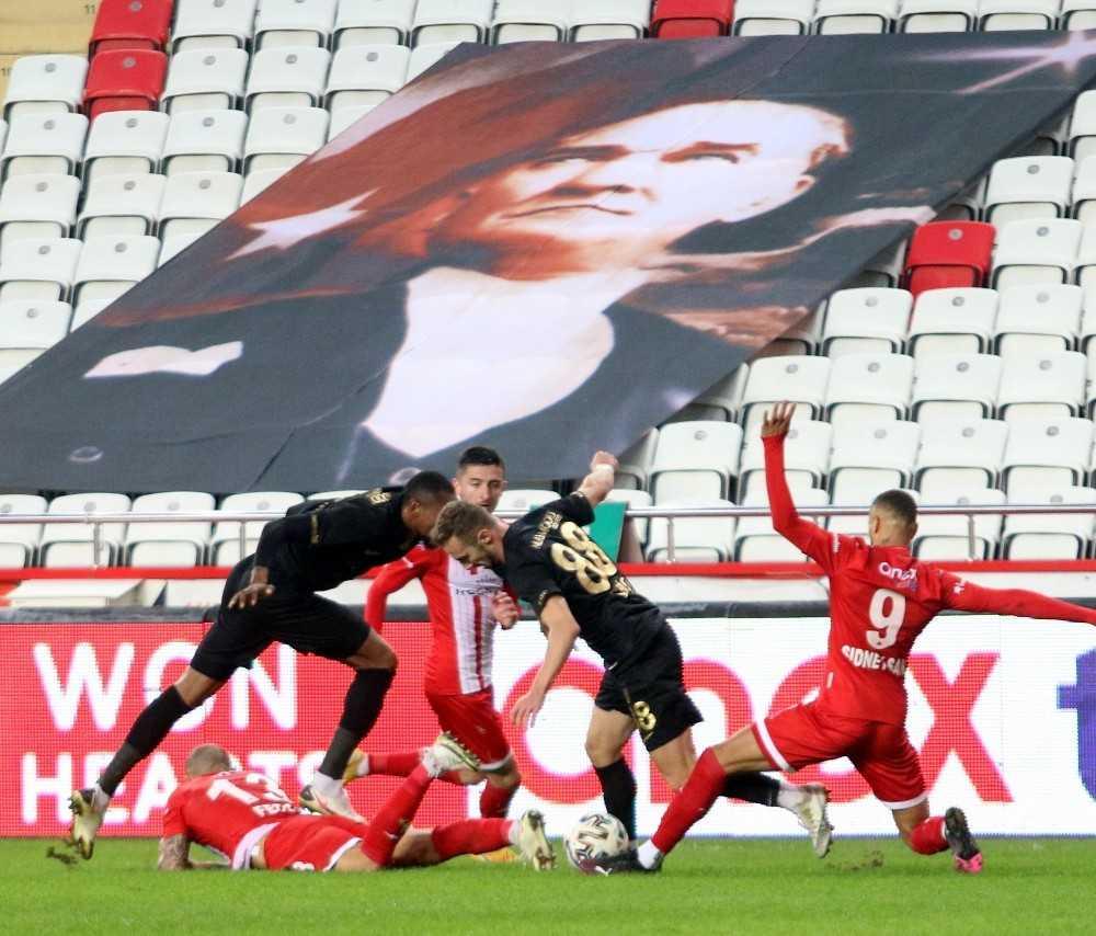 Süper Lig: Fraport TAV Antalyaspor: 1 – MKE Ankaragücü: 0 (Maç sonucu)