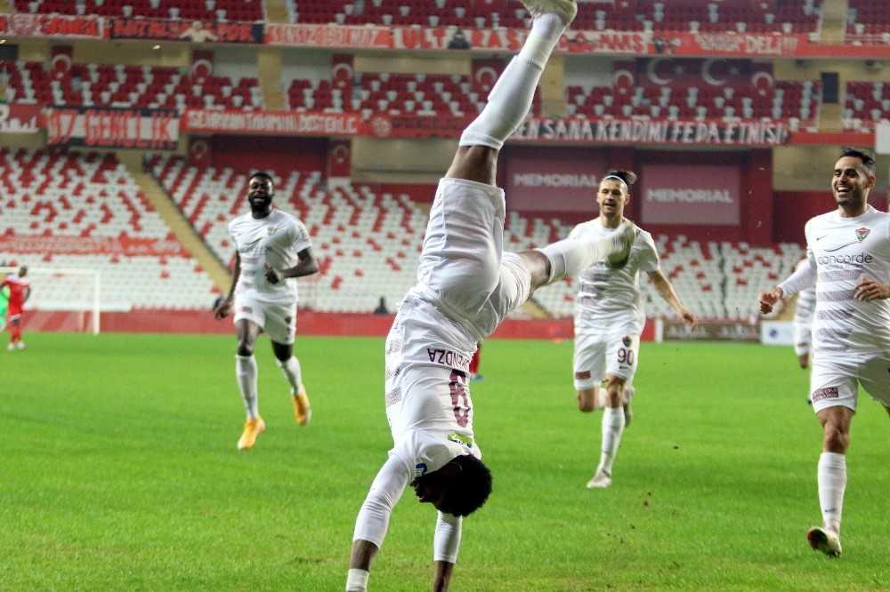 Süper Lig: FT Antalyaspor: 0 – Atakaş Hatayspor: 5 (İlk yarı)