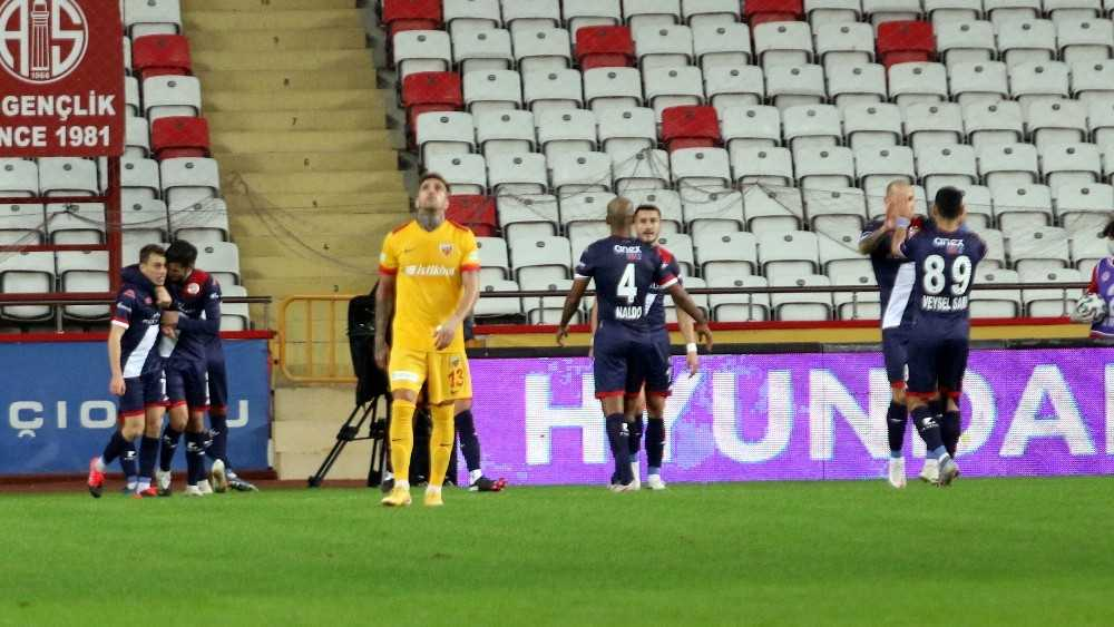 Süper Lig: FT Antalyaspor: 2 – İH Kayserispor: 0 (İlk yarı)