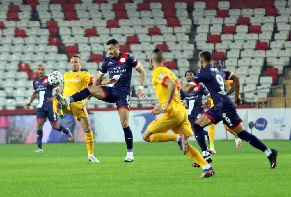 Süper Lig: FT Antalyaspor: 2 – Kayserispor: 0 (Maç sonucu)