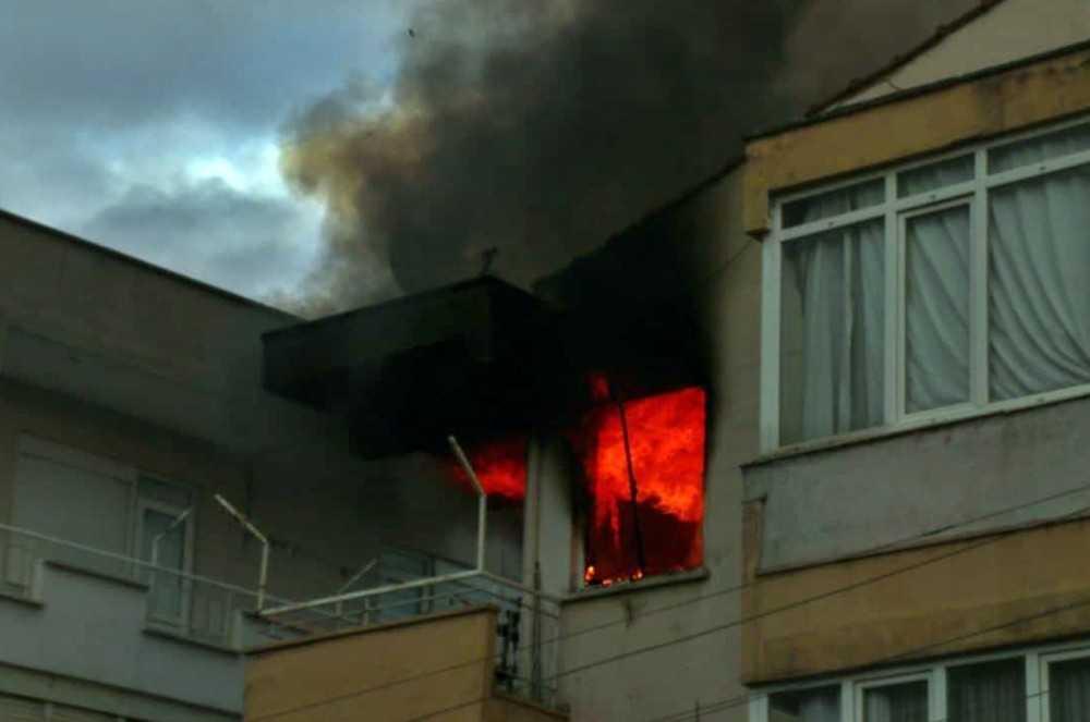 Antalya'da önce ağlatıp sonra sevindiren yangın