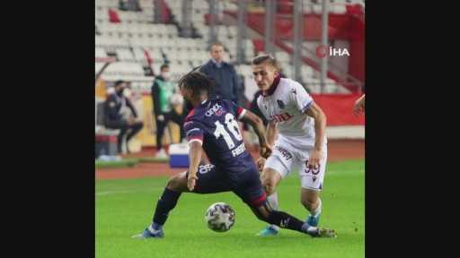 Antalyaspor – Trabzonspor maçından kareler -1-