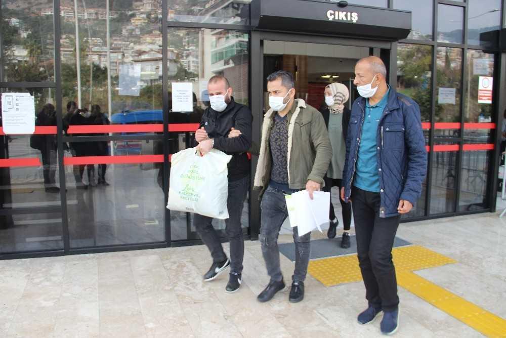 Cinayet zanlısı firari Alanya'da yakalandı