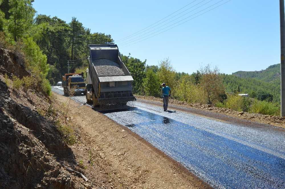 Kırsal alan yollarına 33 milyonluk yatırım