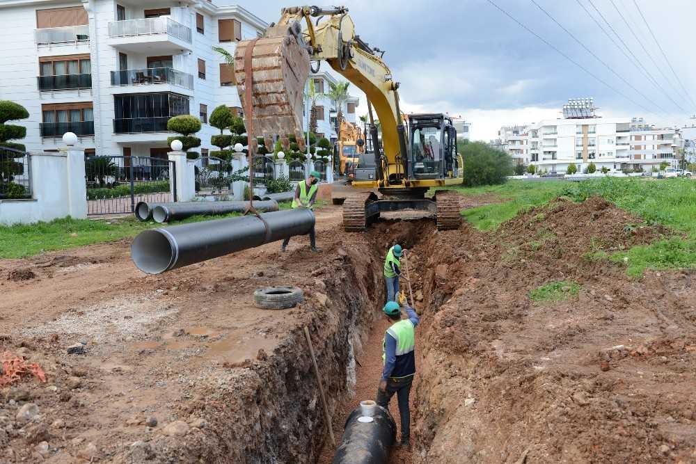 Konyaaltı ilçesinin içme suyu hattı 13 milyon TL'ye yenileniyor