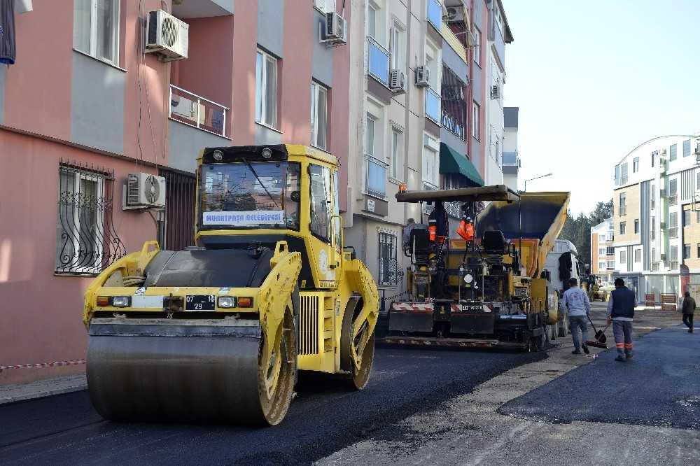 Muratpaşa'da çalışmalar sokak sokak devam ediyor