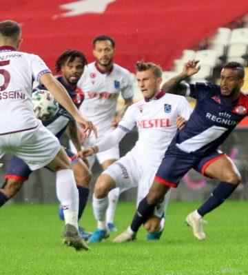 Süper Lig: Antalyaspor 1 – Trabzonspor: 1 (Maç sonucu)