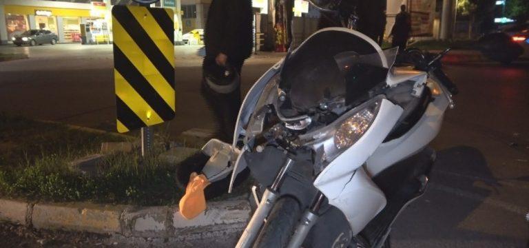 Yaralamalı trafik kazasında hayat kurtaran tesadüf
