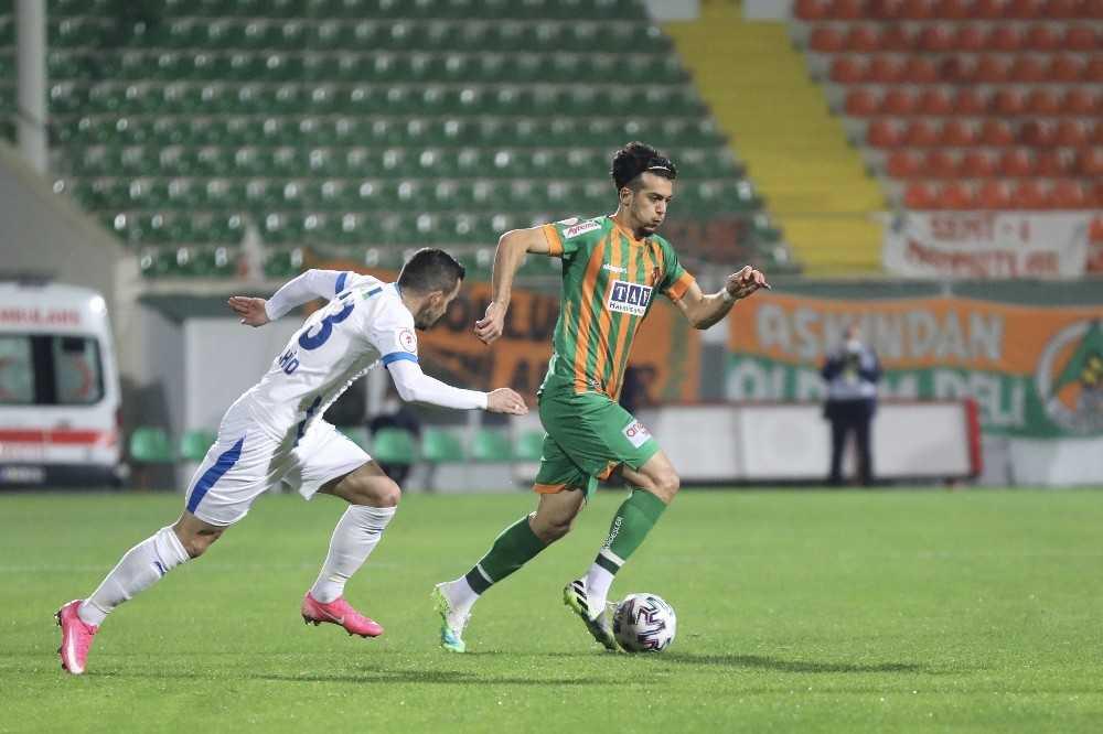 Ziraat Türkiye Kupası: Aytemiz Alanyaspor: 2 – BB Erzurumspor: 1 (ilk yarı)