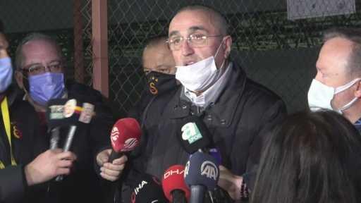 """Abdurrahim Albayrak: """"Tüm zorluklara rağmen Galatasaray buradan 3 puanı aldı"""""""