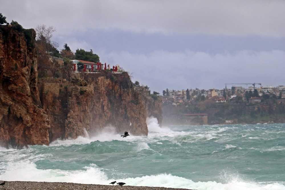 Antalya'nın doğu ilçeleri için kuvvetli yağış uyarısı