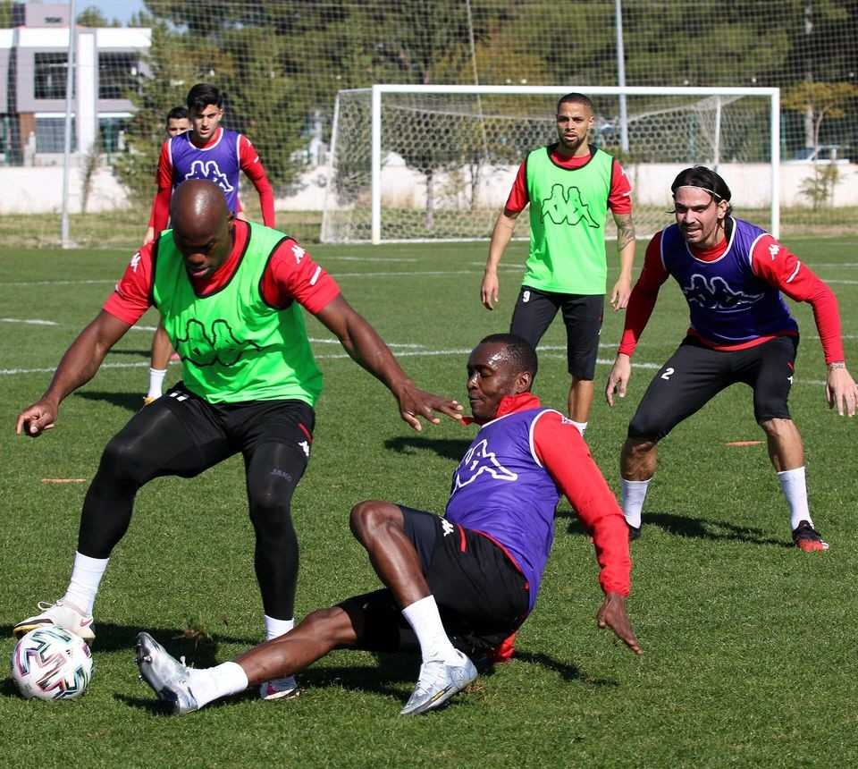 Antalyaspor'da, Denizlispor maçı hazırlıkları