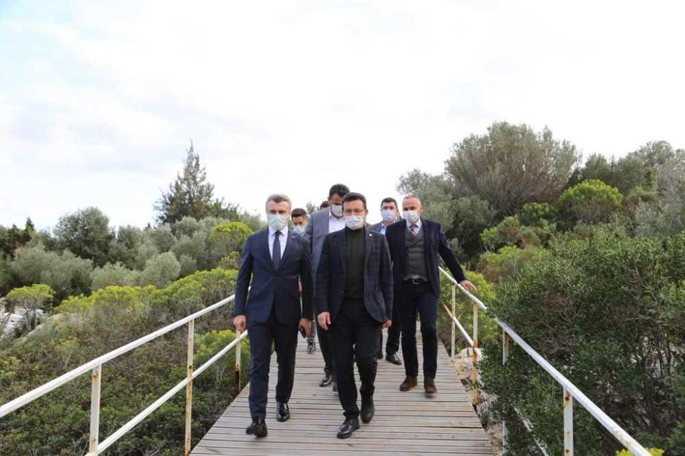 Atay Uslu'dan Batı Antalya turu