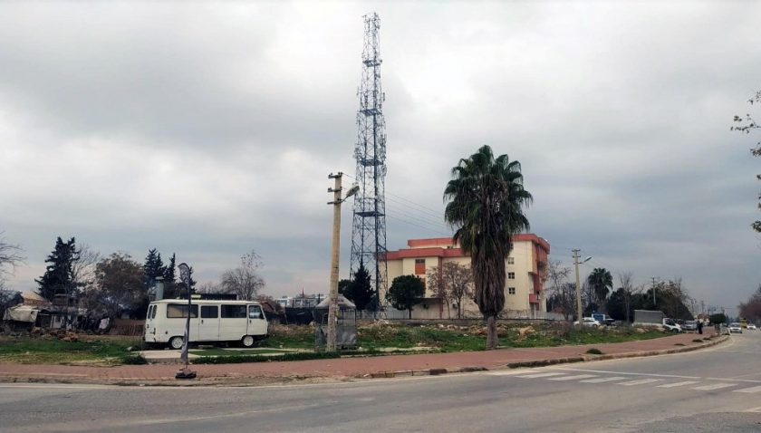 Atıl arsa alanı Karakol binası için emniyet hizmet alanına dönüştürüldü