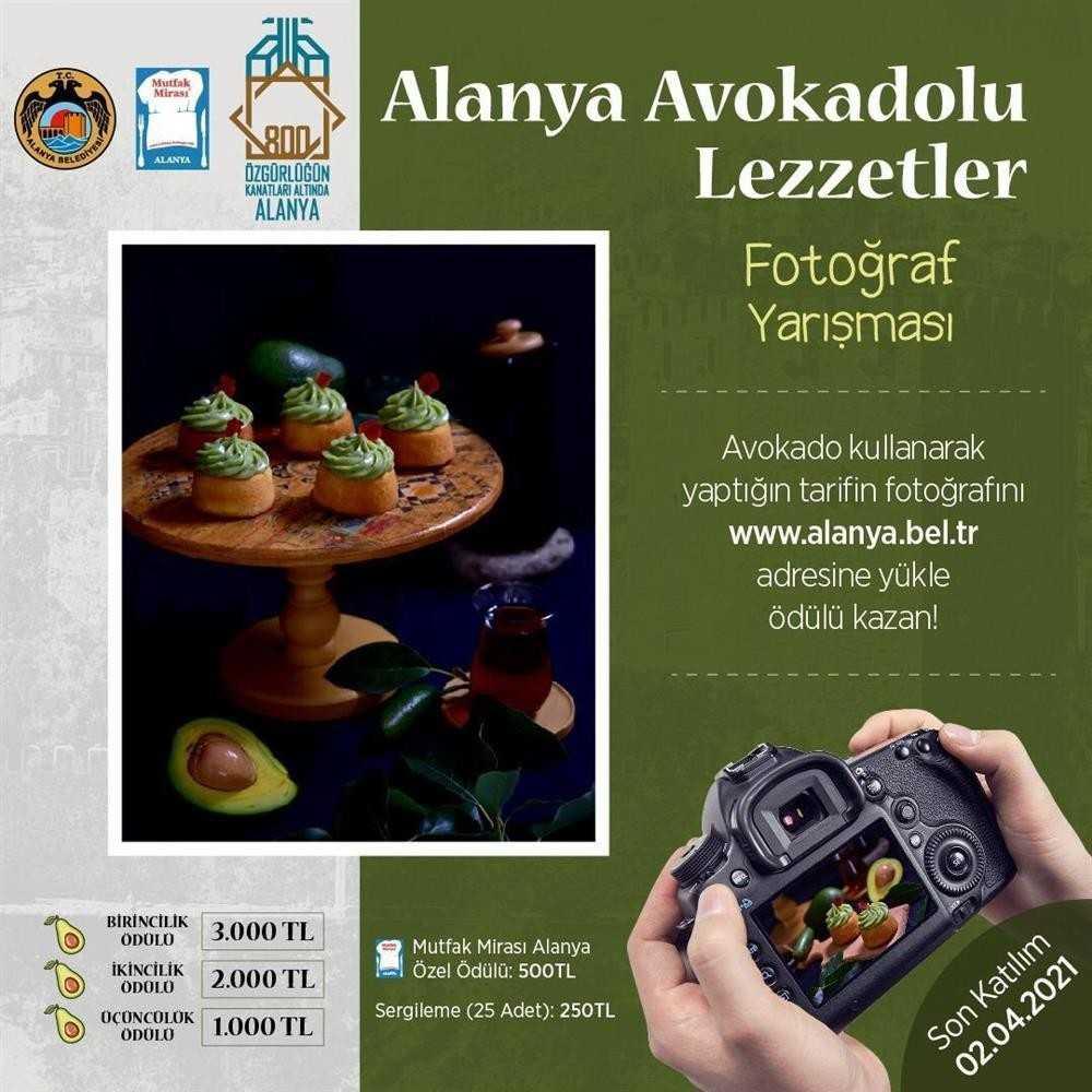 Avokadolu lezzetler fotoğraf yarışması başlıyor