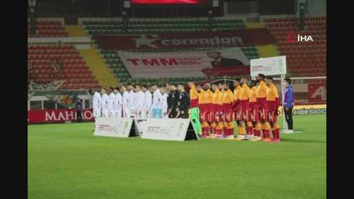 Aytemiz Alanyaspor - Galatasaray maçından kareler 1-