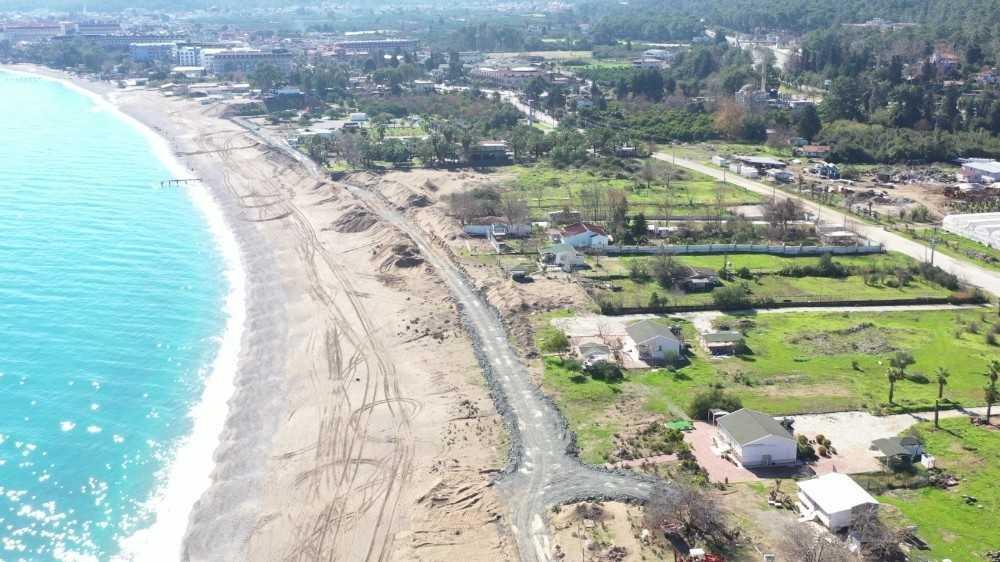 """Başkan Topaloğlu"""" Kındılçeşme sahil projesi Kemer halkının olacak"""""""