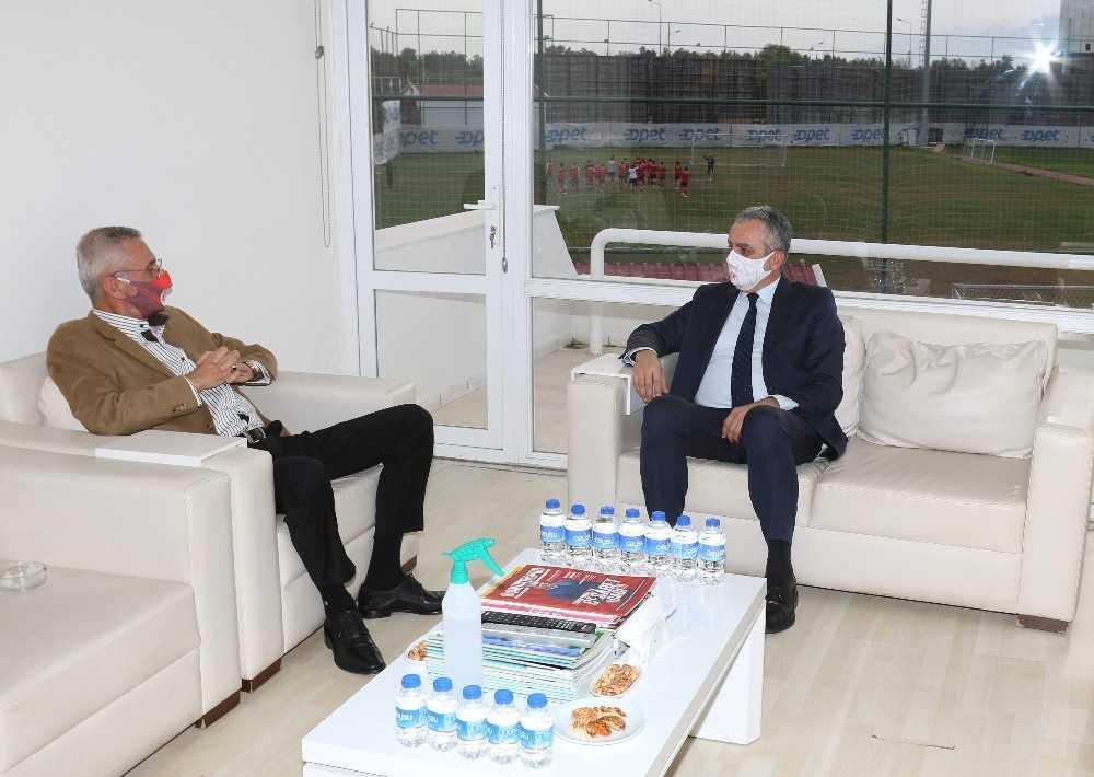 Başkanlardan Antalyaspor'a destek ziyareti