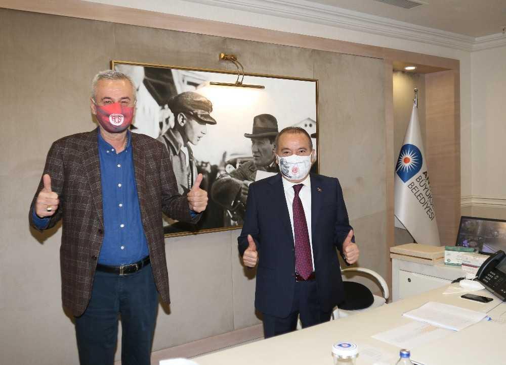 """Böcek: """" Antalyaspor'a desteğimiz devam edecek"""""""