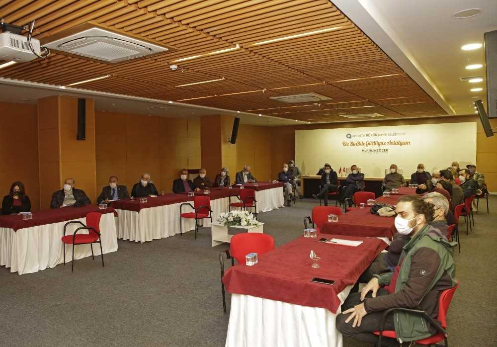 Büyükşehirin Balbey Projesi Kent Konseyi İmar Grubu'na anlatıldı