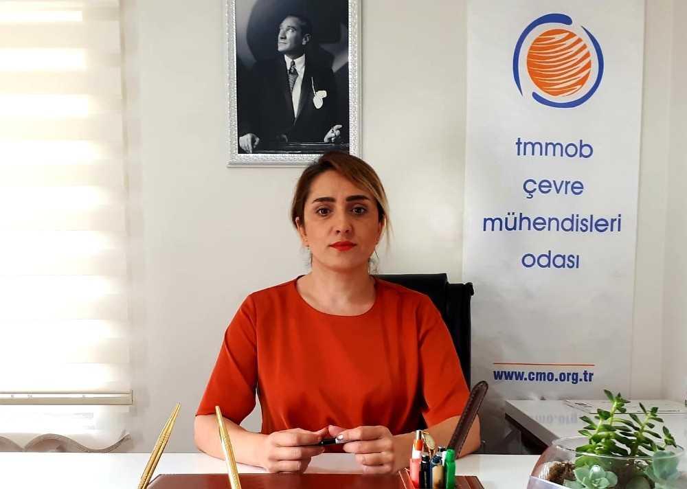 """CMO Antalya Şube Başkanı Derya Ünver : """"Sulak alanlarımız can çekişiyor"""""""