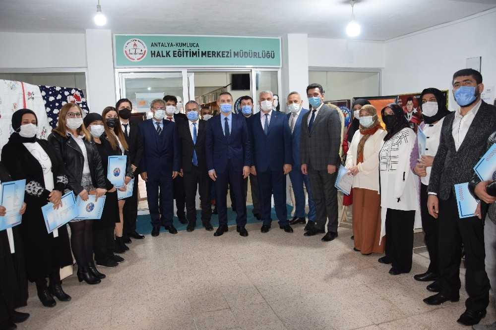 İl Müdürü Hüseyin Er Kumluca'da incelemelerde bulundu